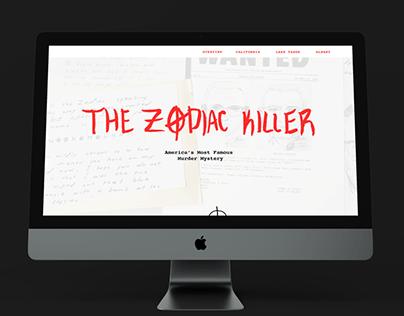 The Story of The Zodiac Killer