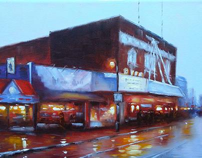 """""""Byrd. Richmond"""" oil on canvas"""