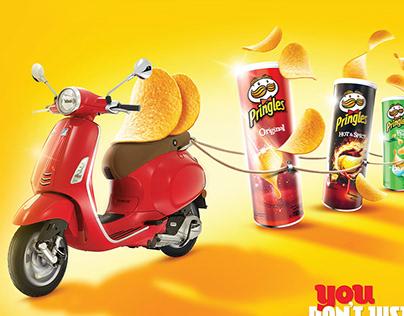 Pringles x Vespa Promo Activation KV