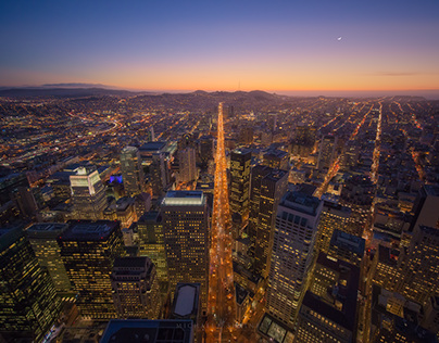 Aerial Cityscape: San Francisco
