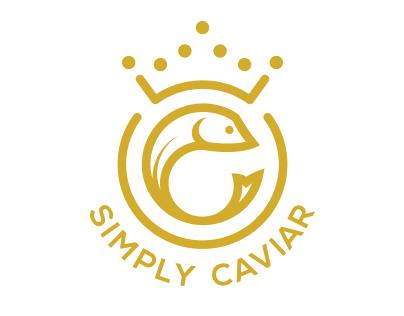 Simply Caviar Logo & Web Development