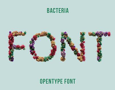 Bacteria Font