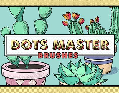 Dots Master Brushes & Patterns Set