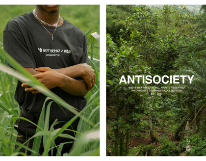 ANTISOCIETY: FASHION EDITORIAL FOR SS18 CAMPAIGN