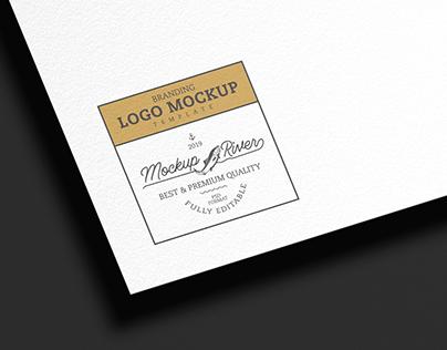 Branding Logo Mockup Template Free