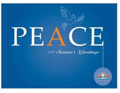 Elmer's Holiday Card 2012