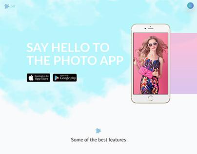 Mi photo app logo