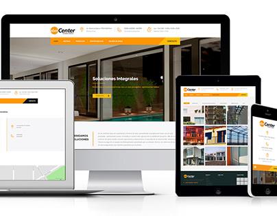 Abercenter - Responsive Web