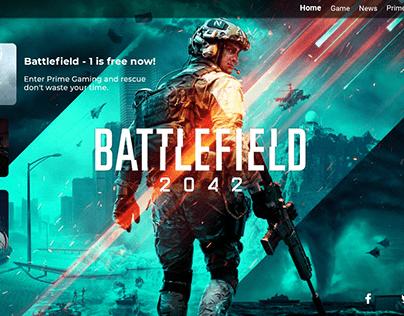 Interface Web - Battlefield 2042