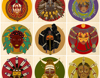 Imaginary ethnic groups