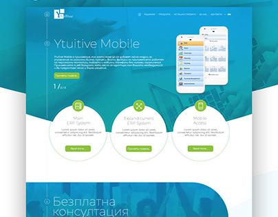 Ytuitive Mobile Website