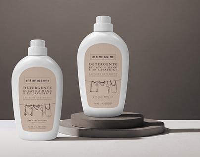 Intimissimi Laundry Detergent Packaging Design