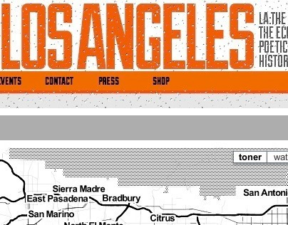 Alive in Los Angeles website