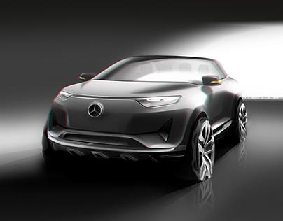 Mercedes-Benz random sketches (2017)