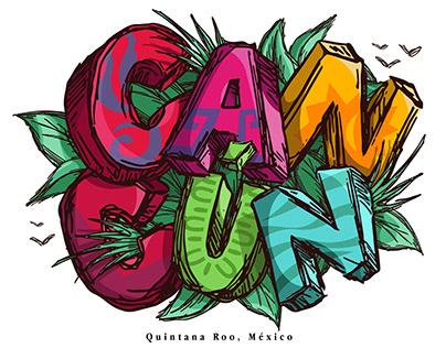 Cancún - Illustration