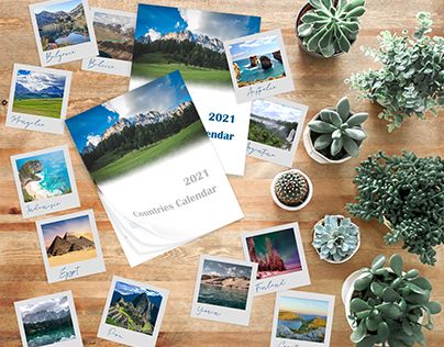 Countries Calendar 2021