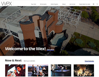 The Wex Center for the Arts Website