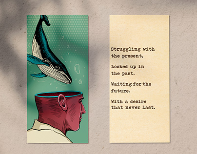 Mental health Illustrations and poems