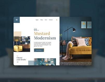 Вдохновение веб-дизайн. Применения стиля модерн