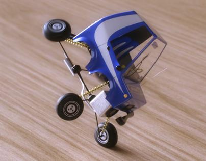 Toon Car animation by wipix.fr