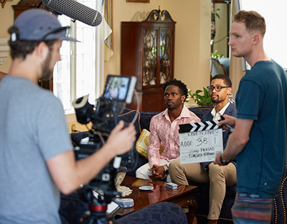 """Behind the scenes on """"A Good Home"""""""
