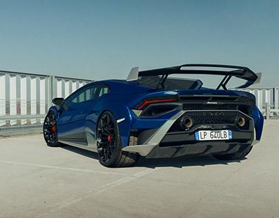 Lamborghini Huracan STO, CGI.