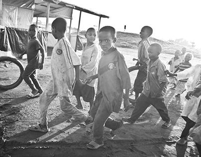 FOTOGRAFÍA SOCIAL (CAMPOS DE REFUGIADOS EN CAMERÚN)