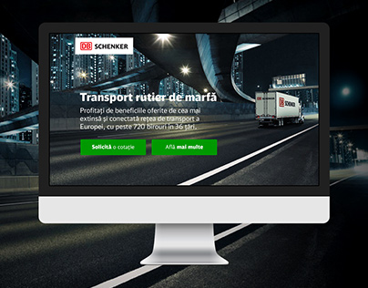 Landing page road freight (proposal)