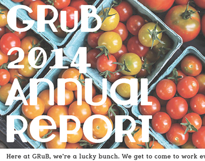 GRuB 2014 Annual Report poster