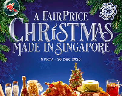 Fairprice Christmas Catalogue 2021 Fairprice Projects Photos Videos Logos Illustrations And Branding On Behance
