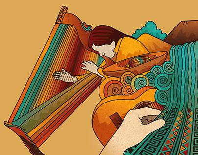 Peguche, música y artesanía.