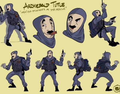 Character Design - Archiebald Tuttle