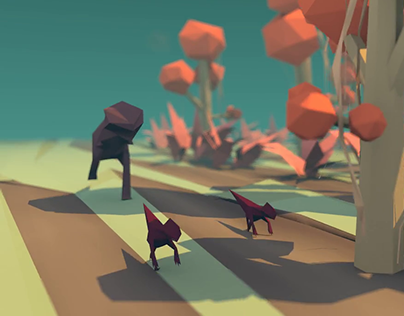 Low-Poly Dino Animation