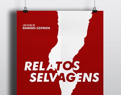 Relatos Selvagens - Cartaz minimalista