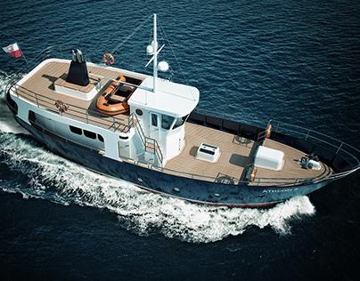 Athlon 2 Leisure Fishing Motor Yacht