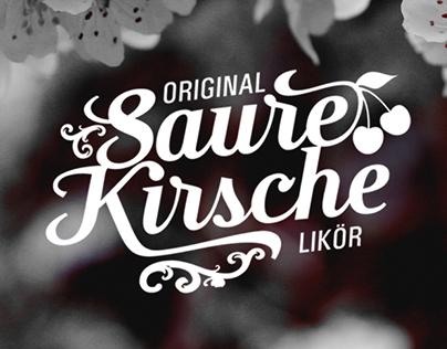Saure Kirsche Liqueur Germany