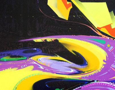 Art In Motion; 'The Atomic Flower Crustacean'