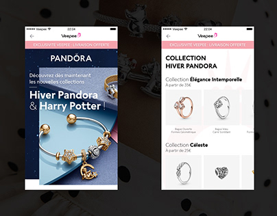 Pandora - Collection Hiver