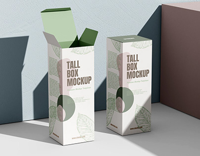 Box Packaging Mockup Download