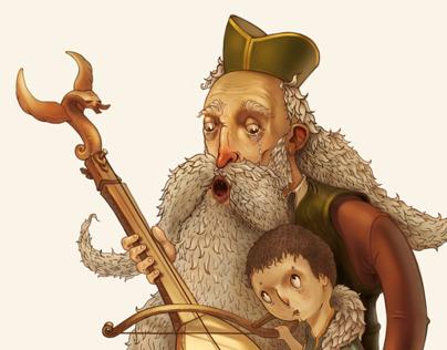 Deda i unuk / Grandfather and grandson