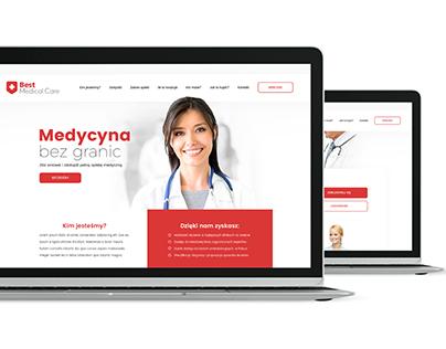 Best Medical Care - logo and website design