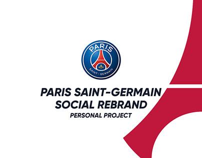 Paris Saint-Germain Social Rebrand