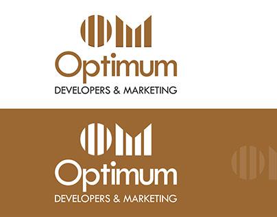 Logo Design | Optimum Developers & Marketing