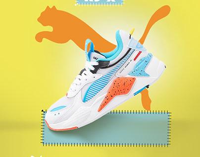 sport shoes (puma-adidas-reebok)
