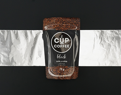 CUP Coffee Package and Logo Design