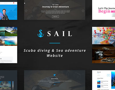 Sail - Scuba Diving & Sea Adventure Website