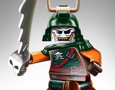 Lego Ninjago - Illustrations