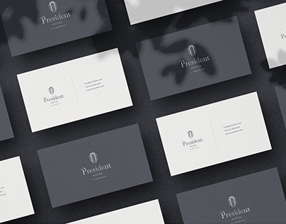 President hotel: Logo Design and Branding