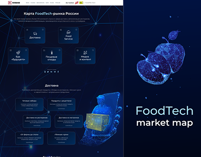 FoodTech   Landing page