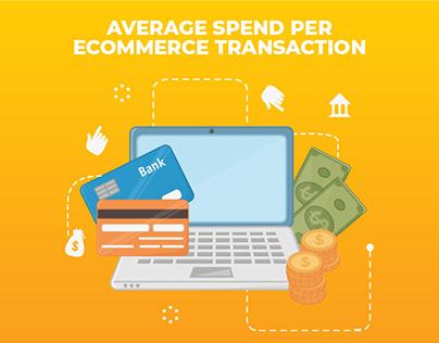 Infographics - Average spend per eCommerce Transaction